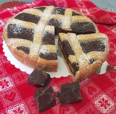 Crostata al Cioccolato Fondente Fruit Pie, Apple Fruit, Chocolate Recipes, Chocolate Cake, Nutella, Sweet Tarts, Something Sweet, Dessert Recipes, Desserts