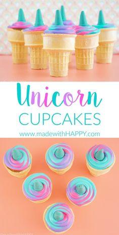 These unicorn cupcak