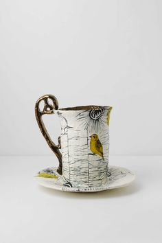 Feathered Friends Teacup