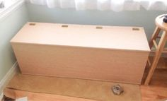 How To Build Yourself A storage bench