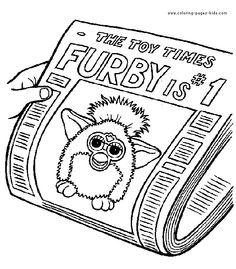 furby coloring pages | ... Furbies coloring pages and sheets can be found in the Furbies color