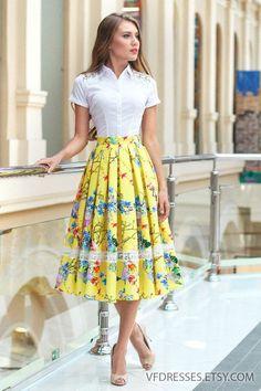 Skirts For Women – My WordPress Website Floral Pleated Skirt, Linen Skirt, Linen Dresses, Beach Dresses, Modest Fashion, Fashion Dresses, Fashion Shirts, Emo Fashion, Fashion Women
