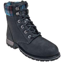 af6ac8092af CAT Caterpillar Boots Women's Black Kenzie Steel Toe EH Boots 90392, #CAT,  #. Botas De Seguridad ...