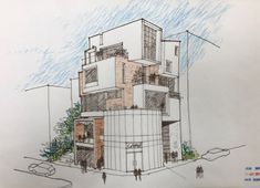 Architecture Plan, Amazing Architecture, Drawing Sketches, Drawings, Tips, House, Ideas For Presentations, Poster, Advice