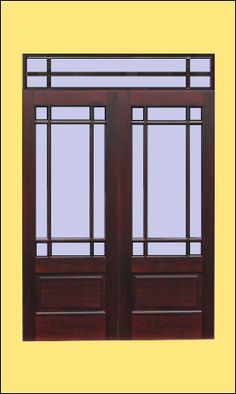 Glass Entry Door On Lite Craftsman Prairie Style 6 0 Double Entry Doors Manufacturer N A For