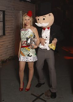 Homemade Monopoly Halloween Costume someone has to do this during greekweek omg