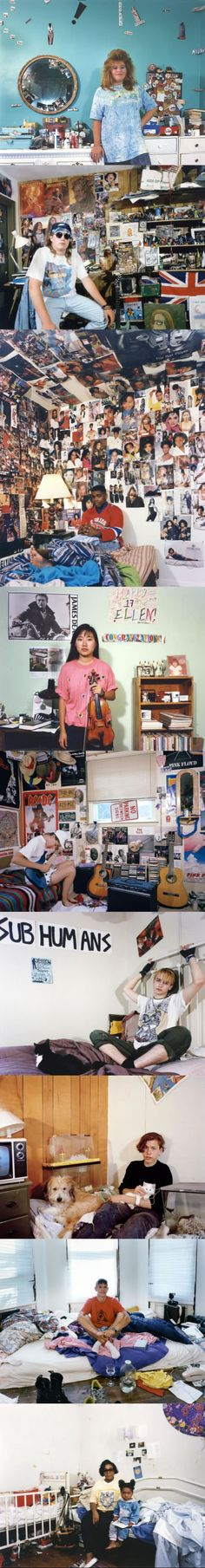 Iconic Photos of 90s Teens in their Bedrooms (by Adrienne Salinger)