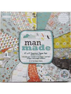 The Good Craft Shop Limited - First Edition Man Made 8x8 Paper Pad