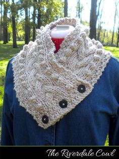 Looking for your next project? You're going to love The Riverdale Cowl by designer AuntJanet. - via @Craftsy