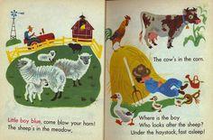 Baby's Mother Goose. Illustrated by Aurelius Battaglia (1948) - 6
