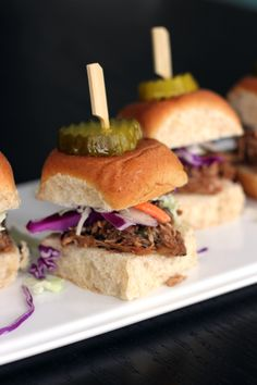 Guest Blogger, @Melanie Makes, updates BHG's delicious Balsamic Vinegar and Honey Pulled Pork Sliders. The perfect meal for your next sports party! See the full post here: http://www.bhg.com/blogs/delish-dish/2014/03/06/guest-blogger-melanie-makes/