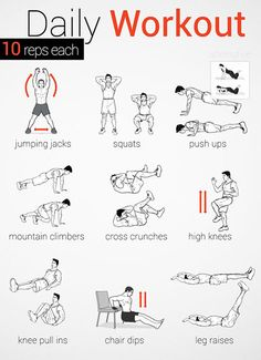 The no gym daily workout.