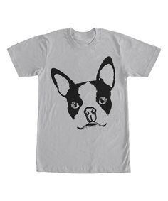 Silver Boston Terrier Tee  zulilyfinds Unicorn Outfit 91824a534