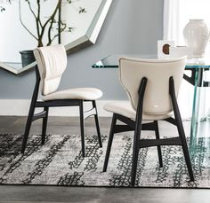 Modern Dining Furniture Modern Dining Furniture Trends – Combing Comfort With Style Modern Dining Furniture. There was a time when getting chic, elegant furniture for your house was a relativ… Contemporary Furniture Stores, Contemporary Dining Chairs, Modern Dining Chairs, Dining Table Chairs, Upholstered Dining Chairs, Living Room Chairs, Side Chairs, Modern Furniture, Furniture Design