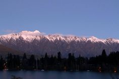 The snow capped Remarkables #Queenstown