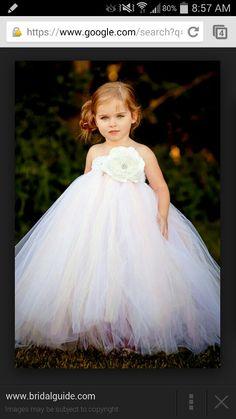 Amellia's flower girl dress