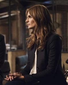 TV SHOWS: Stana Katic on Castle (Season 8)