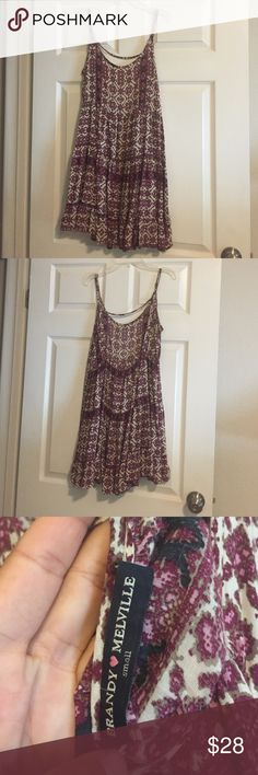 Rare brandy melville tribal patterned dress Perfect condition dress from Brandy Melville. No longer made and is  perfect for the summer! Never worn before without tags Brandy Melville Dresses Midi