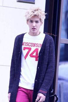 Wuyifan the blonde prince