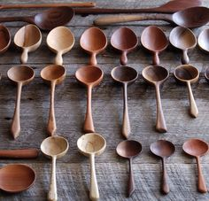 Wooden Spoon Carving, Carved Spoons, Wood Carving Tools, Wood Spoon, Wood Projects, Woodworking Projects, Love Spoons, Wood Worker, Whittling