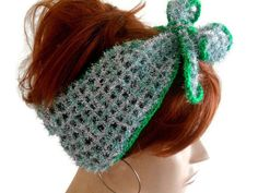 Gray Knitted Head Band, Womens Head band, Summer Head Band, Crochet Head Band, Head Accessories, Hair Band, Crochet Band, Crochet Bandana    Silver Color mercerized yarn is used. The edges are green mercerized. It was decorated with flowers. You can use it in all seasons. Hair adds beauty. Stylish style headband.   COLOR; Silver color, Green edges Flowers, Leaves    MAINTENANCE INSTRUCTIONS Hand washing. Leave it to the institution.   Deliveries will be sent within 1-3 days of receiving…
