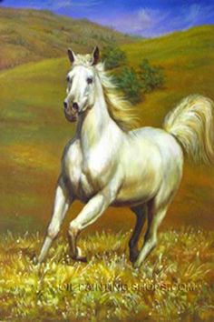 """High Quality Fine Art Framed Painting Animal Wild Horse Paintings, Size: 30"""" x 40"""", $147. Url: http://www.oilpaintingshops.com/high-quality-fine-art-framed-painting-animal-wild-horse-paintings-3056.html"""