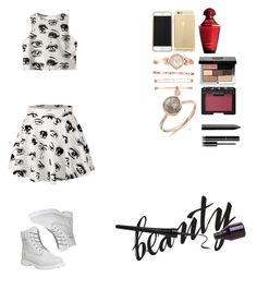 """""""It me so long to find this skirt"""" by sheo-fashion on Polyvore featuring beauty, Timberland, Chicnova Fashion, Anne Klein, Bobbi Brown Cosmetics, NARS Cosmetics and Chanel"""