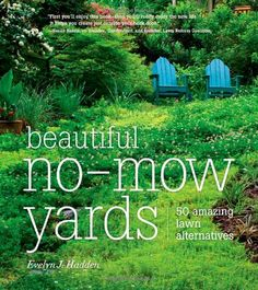 Must read this book, as there is no way I can ever mow our front lawn without putting myself in bodily danger, and it is looking shaggy and sad, like that house on the street that the neighbors always whisper about. Instead, I can have an artful-looking hill covered in prairie grass and wildflowers. Then the neighbors will whisper out of jealousy.