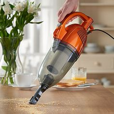 VonHaus 2 in 1 Corded Lightweight Upright Stick & Handheld Vacuum Cleaner with HEPA Filtration - Includes Crevice Tool & Brush Accessories Vacuum Cleaner For Home, Handheld Vacuum Cleaner, Car Vacuum, Best Vacuum, Industrial Vacuum Cleaners, Bali, Cordless Vacuum, Car Cleaning, Products
