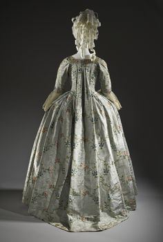 Woman's Dress and Petticoat (Robe à la française). Place of origin: Probably The Netherlands Date: ca. 1775