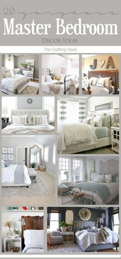 New home? or Feeling like you need to revamp your bedroom??? These 20 Master Bedroom Decor Ideas will give you all the inspiration you need!!! Come and check them out!!! (scheduled via http://www.tailwindapp.com?utm_source=pinterest&utm_medium=twpin&utm_c