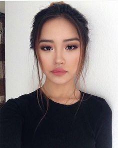 einfaches Make-up - Prom Makeup Looks Beauty Make-up, Asian Beauty, Beauty Hacks, Hair Beauty, Beauty Style, Makeup Inspo, Makeup Inspiration, Makeup Tips, Asian Makeup Tutorials