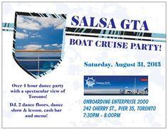 Salsa GTA Boat Cruise Party in Toronto | TorontoDance.com