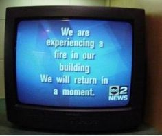 TV Channel Fire - Cool Fun Pics - Cool Funny Pictures and Photos Uber Humor, Funny Sites, Bored At Work, One Moment, You Funny, Funny Stuff, Funny Things, Hilarious, Crazy Things