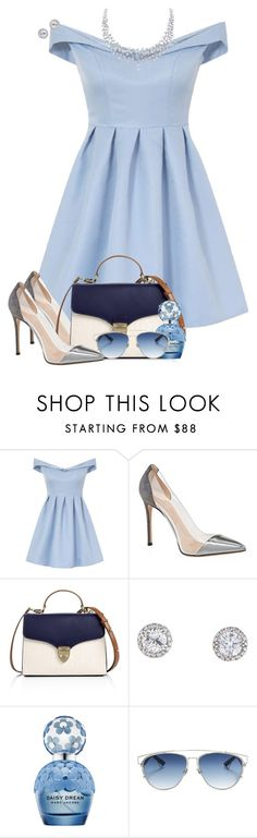 """Cinderella 👑"" by sofia-collins8 ❤ liked on Polyvore featuring Chi Chi, Gianvito Rossi, Aspinal of London, Marc Jacobs and Christian Dior"