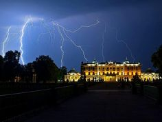 Multiple lightning strike