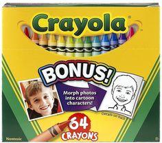 Rainy day activity: crayon scavenger hunt!