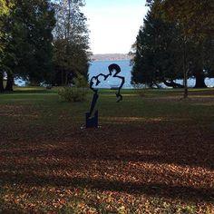 Kunst im Schloßpark von Garatshausen Starnberger See  #Kunst #Art #Garatshausen #Starnberg #Tutzing #See #Feldafing #Park #Schloßpark