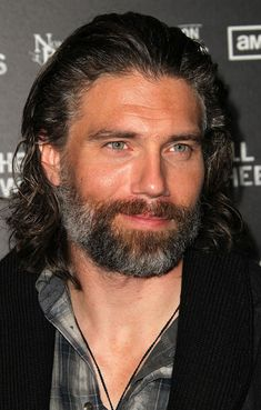 Anson Mount, from Hell on Wheels. From the words of another pinner, My oh my, that smile... he's so man-pretty I can't even stand it. Lord, have mercy!