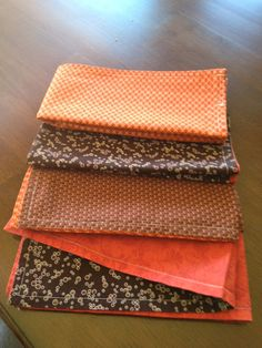 Double sided cloth napkins