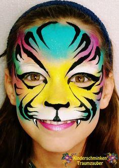 Galerie Face And Body, Body Painting, Body Art, Halloween Face, Rainbow, Tiger, Lighthouse, Animal Makeup, Kids Makeup