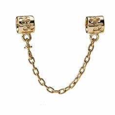 PANDORA | Safety Chain, 14K Gold