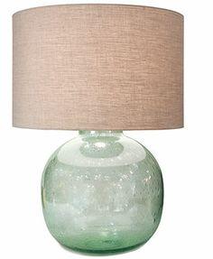 "Regina Andrew Table Lamp, Seeded Vessel $283 , 19"""