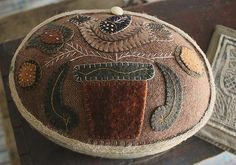 Her Work: Wooly Box Bird & Flower Pot