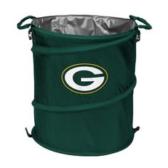 Green Bay Packers NFL Collapsible Trash Can Cooler Cincinnati Bearcats, Pittsburgh Steelers, Indianapolis Colts, Denver Broncos, Soft Sided Coolers, Nfl Detroit Lions, Nfl Philadelphia Eagles, Nfl Packers