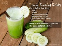 Calorie Burning Drink (Works While You Sleep!)