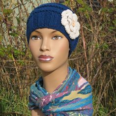 Leigh Knit Beanie. New! This sweet little beanie is not only cute, cute cute, it's super comfy and makes a perfect winter hat for cancer patients and women with sensitive heads.