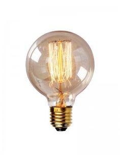 Edison Tungsten Globe Filament Vintage Light Bulb
