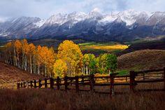 Autumn on Ohio Pass near Crested Butte, Colorado