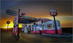 Gas Station - Jarrell, Texas by Larry White Photography